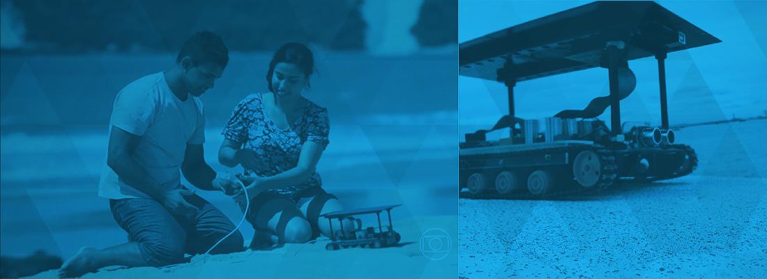 Jovens invetam Veículo para Acessibilidade de Cadeirantes em Praias